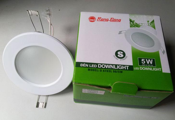 Đèn LED downlight Rạng Đông 5W - D90 (D AT03L 90/5W) giá rẻ