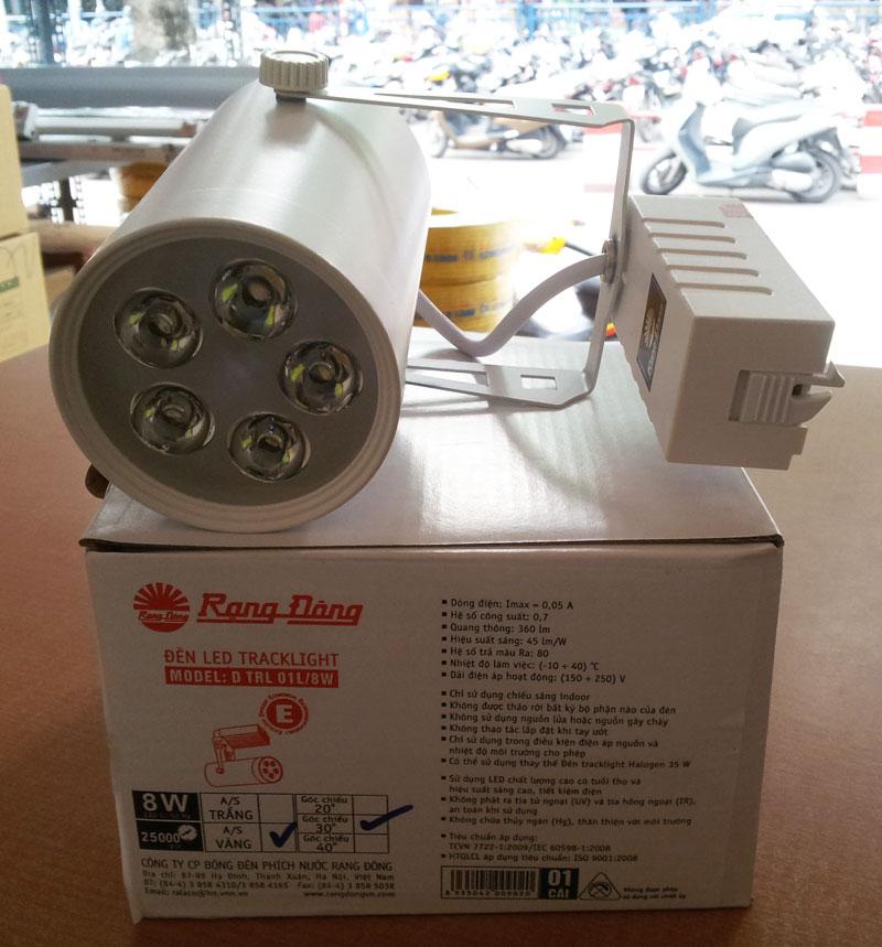 Đèn led thanh ray - LED spotlight 8W