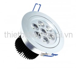Đèn LED downlight âm trần 9W/ D138 H49 (CD112-9D)