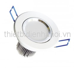 Đèn LED downlight âm trần 9W/ D140 H76 (CD412-9D)