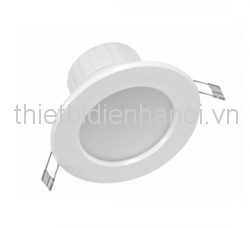 Đèn LED downlight thân nhựa 7W/ D125.4 H62 (CD512S-7D)