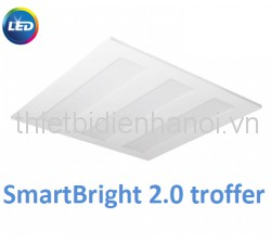 Máng đèn âm trần Led Stroffer 2.0 SmartBright Philips (RC098V LED 865/840 W60 L600 22S/GM)